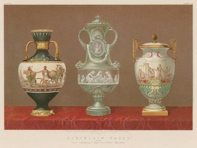 Porcelain Vases from the Imperial Manufactory, Sevres