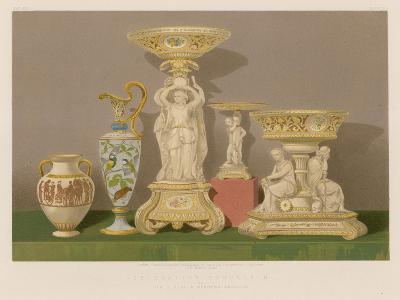 Decorative Porcelain by Sir J Duke and Nephews, Burslem