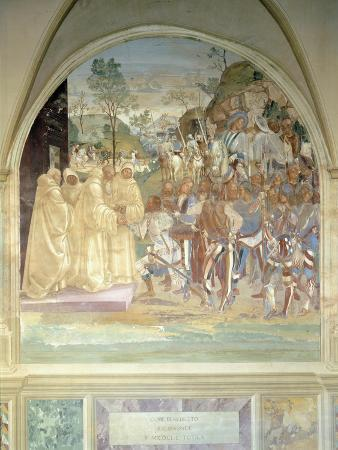 Stories of St Benedict, 1497-1498