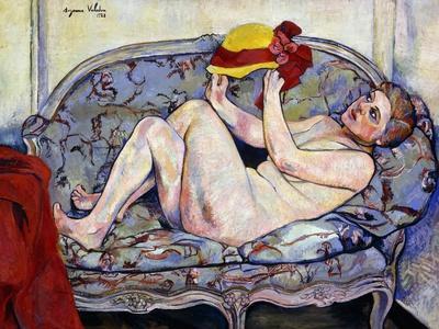 Nude Reaching on a Sofa; Nu Allonge Sur Un Canape, 1928