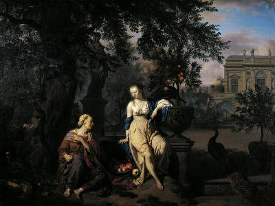Vertumnus and Pomona, 1670