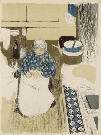 La Cuisiniere, from 'Paysages Et Interieurs', Published 1899