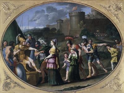 Alexander and Timoclea at Thebes, Ca 1615