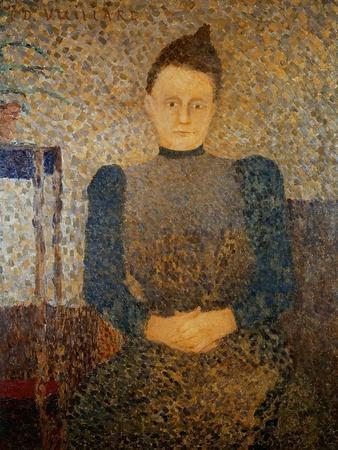 Portrait of Mlle Vuillard, Sister of the Artist, 1892-93
