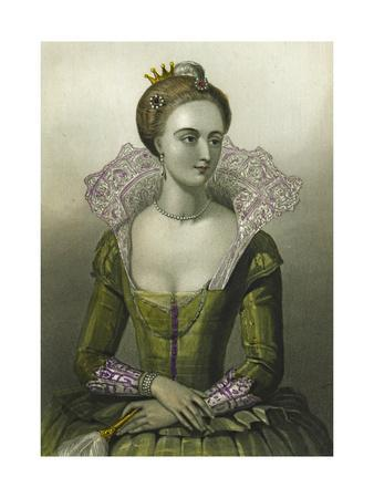 Anne of Denmark, Queen Consort of James I of Great Britain, 1856