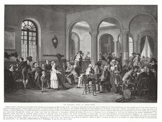 a cabaret under the directory french revolution 1795 1799 giclee