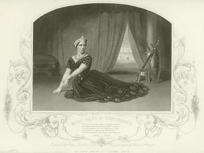 Miss Glyn as Constance, King John, Act III, Scene I