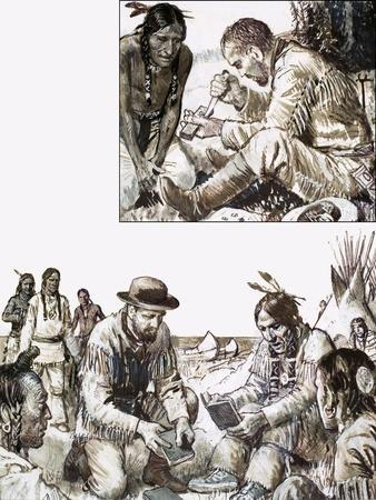 James Evans Set About Printing a Bible for a Remote Tribe of Indians