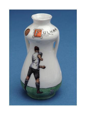 Fulham Football Club Souvenir in the Shape of a Miniature Urn