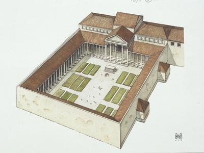 Reconstructed Forum Built by Titus Flavius Vespasianus