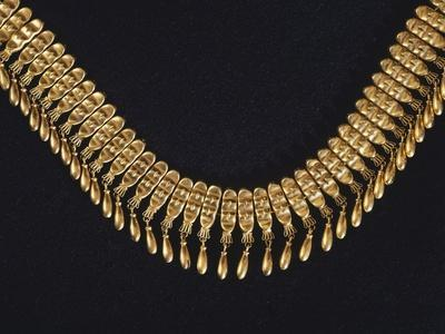 Gold Necklace Originating from Tomb 7 from Monte Alban