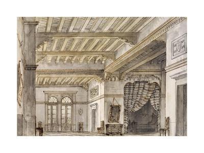 Set Design by Francesco Bagnara for Second Scene of La Sonnambula