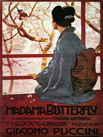 Poster for Madame Butterfly