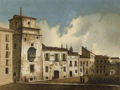 House Where Francis I of France Was Imprisoned, Madrid, 1525-1526