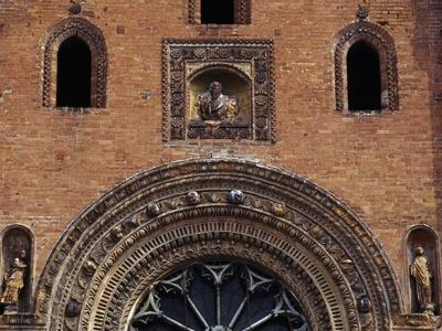 Terracotta Rose Window from Santa Maria Del Carmine Church
