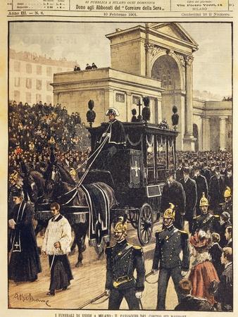 The Funeral of Giuseppe Verdi, Milan, 10th February 1901
