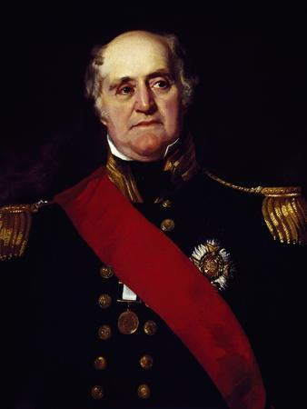Portrait of Sir Thomas Masterman Hardy, Vice-Admiral of Blue