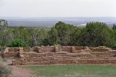 Remains of Pueblo Indian Dwellings, Built 11th-14th Century