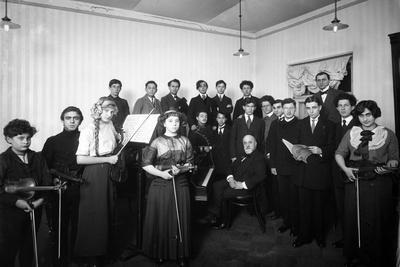 A Group of Students at the St. Petersburg Conservatoire, 1912
