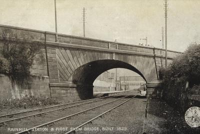 Rainhill Station and First Skew Bridge, Built 1829