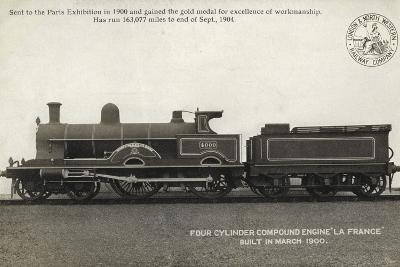 "Four Cylinder Compound Engine ""La France"", Built in March 1900"