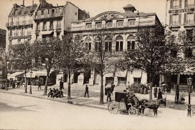 Théâtre Du Gymnase, Boulevard Bonne-Nouvelle, Paris, 1890