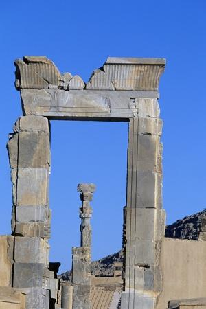 One of Doors to Throne Room or Room of Hundred Columns, Persepolis