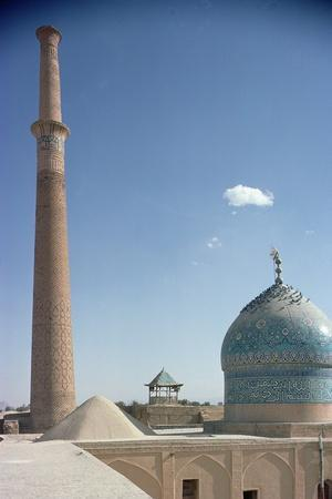 Harun Vilayet Dome and the Ali Minaret, Probably C.17th Century