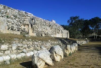Ballcourt for the Game of Pelota, Archaeological Site of Uxmal