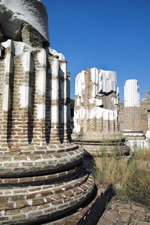 View of Temple of Mars Ultor, Forum of Augustus, Rome