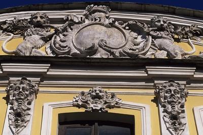 Decorative Detail of Sheremetev Palace, St Petersburg's Historic Centre