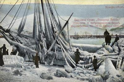 Wreck of the North Star, Novorossiysk, Russia, January 1907