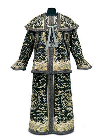 Rare Imperial Guardsman's Ceremonial Uniform, Qianlong / Jiaqing Period
