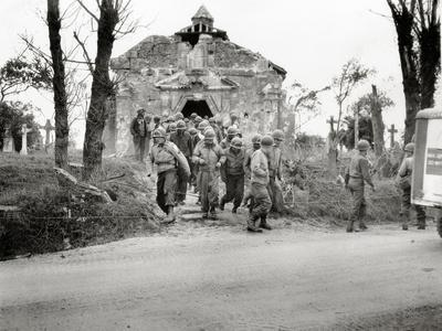 A Group of Engineers from the 1st Engineer Special Brigade