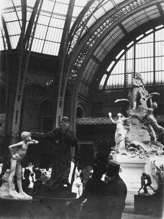 Sculpture at the Exposition Universelle, Grand Palais, 1900