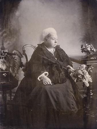 Last Photograph Taken of Queen Victoria at Balmoral