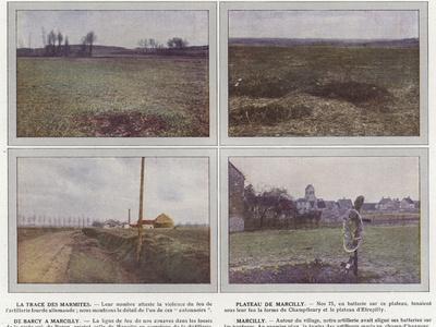 La Trace Des Marmites, Plateau De Marcilly, De Barcy a Marcilly, Marcilly