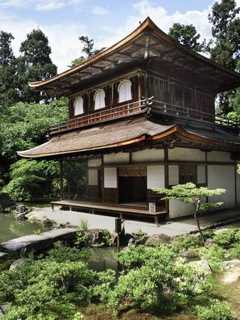 Ginkaku-Ji, Temple of the Silver Pavilion, Kyoto, Japan