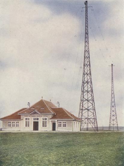 Towers of the Marconi Radio Station, Bern, Switzerland