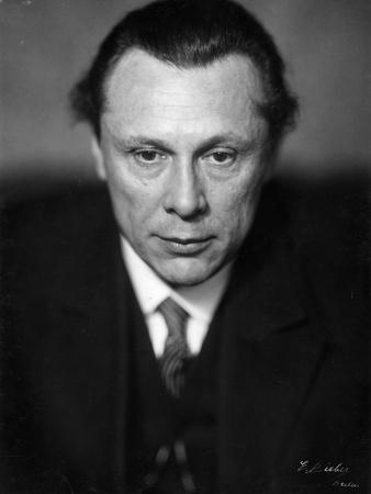 Portrait of Austrian Writer Walter Von Molo, C.1928