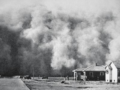 Dust Storm Hits the Town of Springfield, Colorado, May 1937