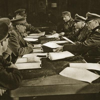 The Reading of the Act of Capitulation, 5th May 1945