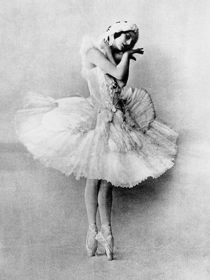 Anna Pavlova In The Role Of The Dying Swan C 1905