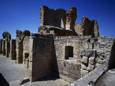 Baths of Licinius with Frigidarium, Ruins of Thugga or Dougga