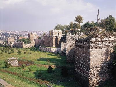 Walls of Constantinople, 2nd-5th Centuries, Historic Areas of Istanbul