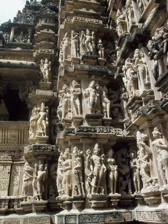 India, Madhya Pradesh, Kandariya Mahadeva Temple in Khajuraho