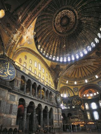 Interior of Hagia Sophia, Historic Areas of Istanbul