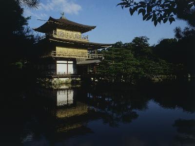 Golden Pavilion or Kinkaku-Ji Temple, 1397, Kyoto