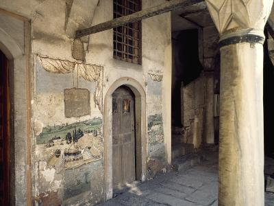 Detail of Harem Courtyard, Topkapi Palace, Historic Areas of Istanbul