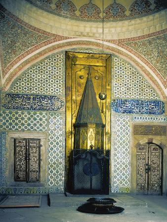 Fireplace Room of Harem, Topkapi Palace, Historic Areas of Istanbul